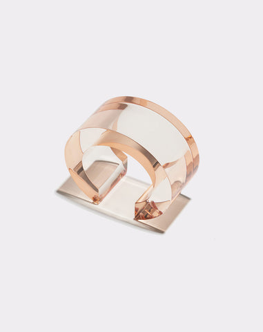 Postmodern Cuff in Peach