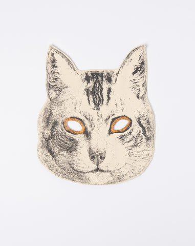 Canvas Cat Mask in Natural