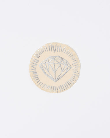 Diamond Patch in Silver Foil