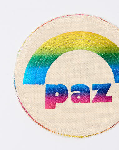 Paz Patch in Rainbow Foil