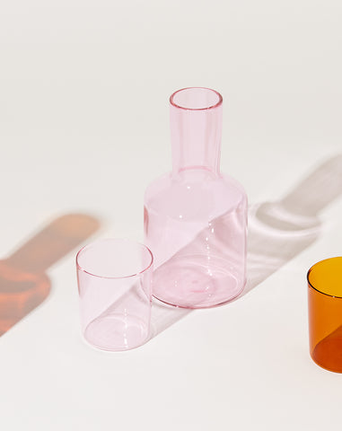 Carafe Set in Rose