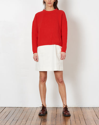 Chunky Sweater in Red