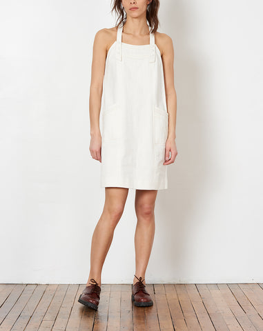 Lune Dress in Raw Ivory