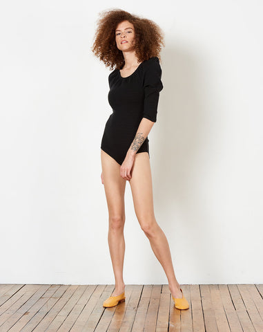Chiara Bodysuit in Black