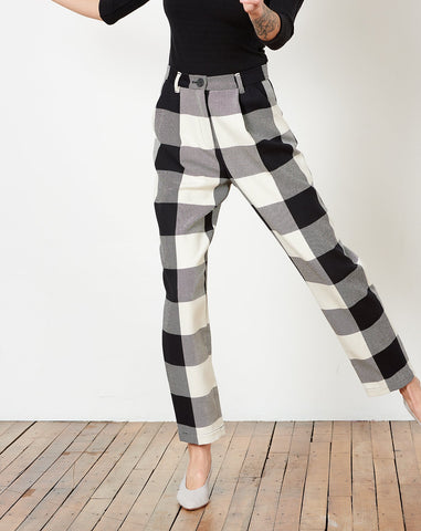 Dita Pant in Esenada Plaid