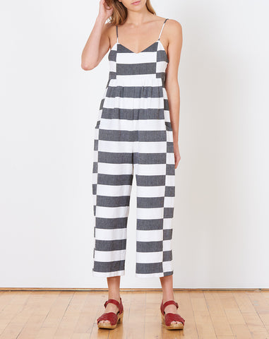 Easy Jumpsuit in Black and White