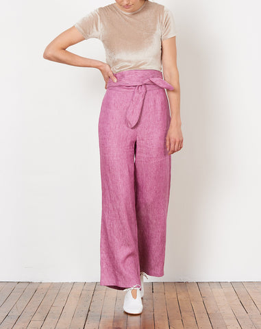 Evelyn Pant in Mauve
