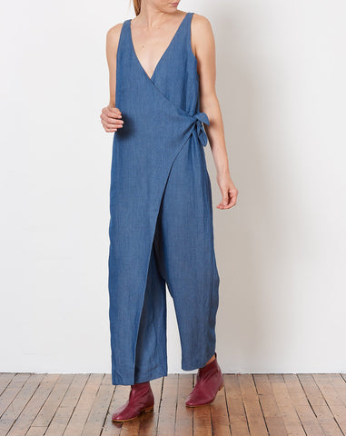 Meryl Jumpsuit in Indigo