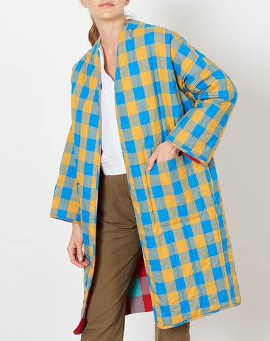 Reversible Willow Jacket in Playford Plaid
