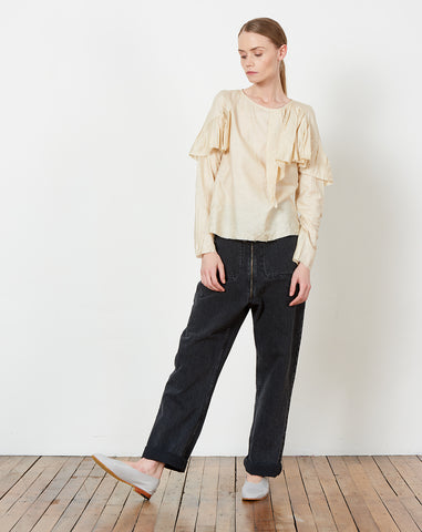 Rooney Blouse in Miso