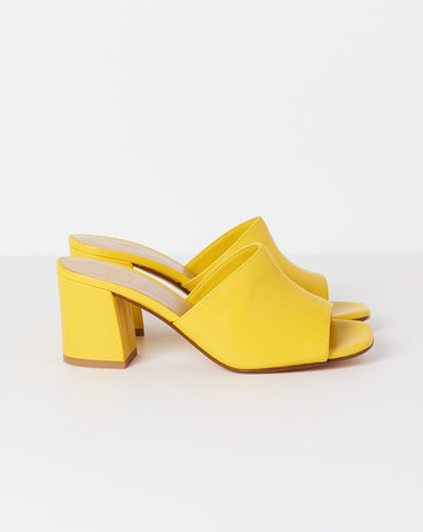 Mar Mule in Yellow Calf