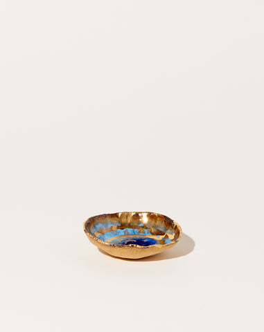 Mini Iceland Dish in Waterfall with Gold Ripples