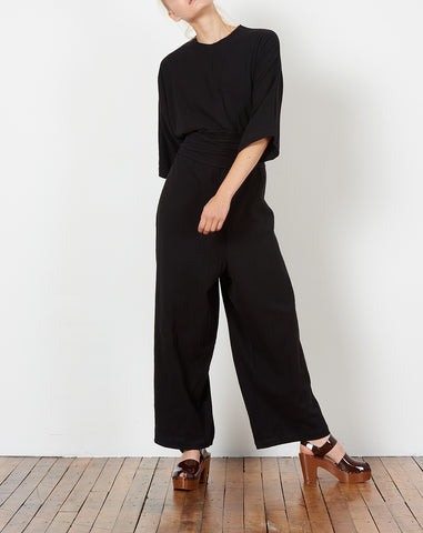 Hesse Jumpsuit in Black