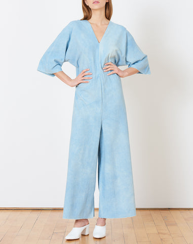Muse Jumpsuit in Light Indigo