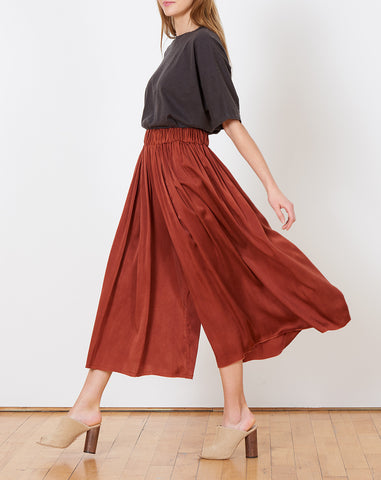Palazzo Pants in Claret