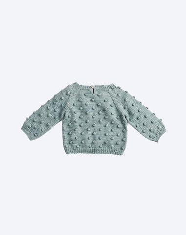 Popcorn Sweater in Sage