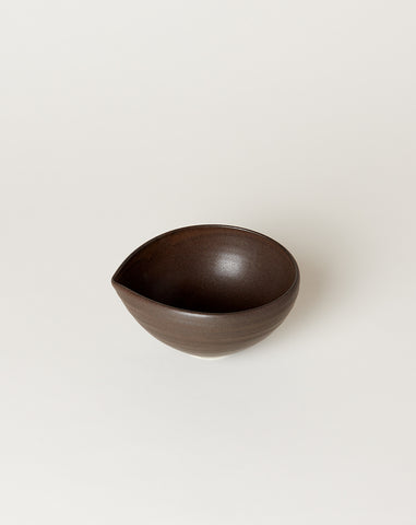 Small Almond Bowl in Chocolate