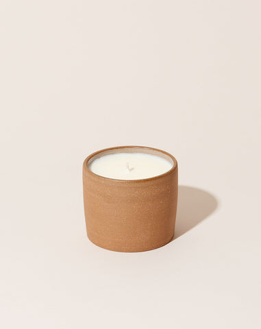Home Collection Terracotta Ceramic Candle: Kitchen