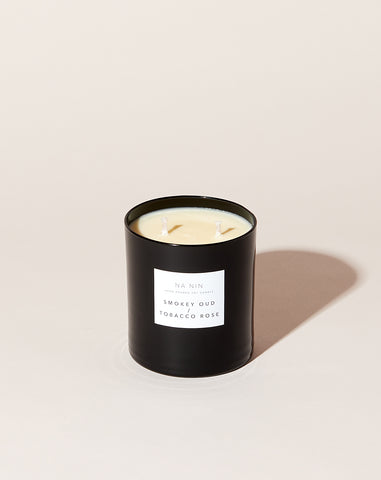 Pairings Collection Candle in Smokey Oud / Tobacco Rose