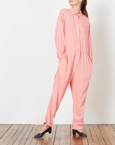 Lyric Flight Suit in Peony