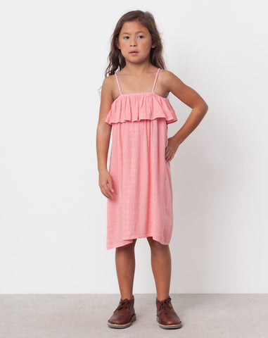 Nicks Textured Dress in Melon