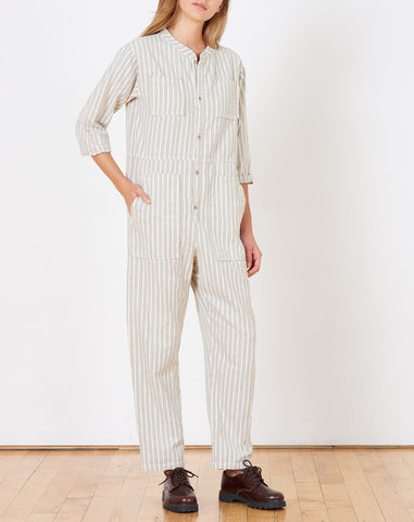 Saturn Striped Jumpsuit in Cosmic