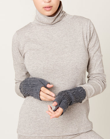 Wool Hand Warmers in Charcoal