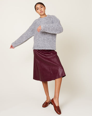 Stephanie Skirt in Burgundy