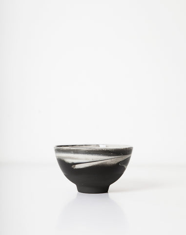 Lili Bowl in Black and White