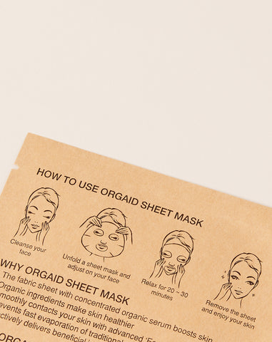 Anti-Aging Moisturizing Organic Sheet Mask