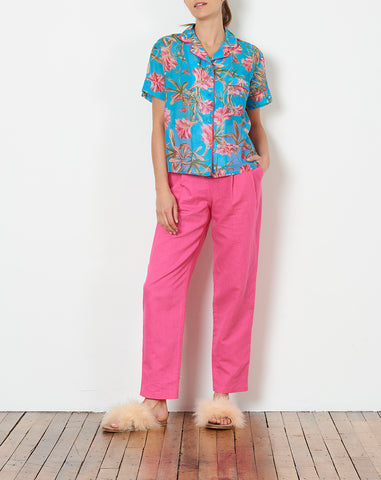 Ari PJ Top in Tropical Floral