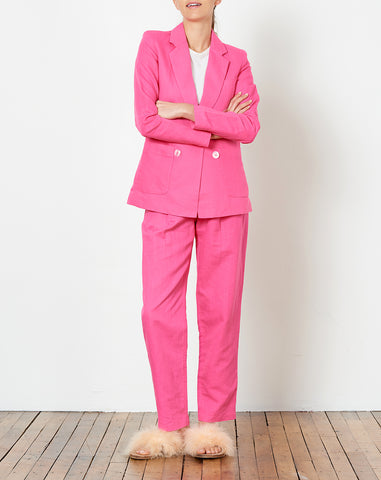 Vivian Blazer in Fuschia