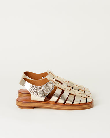 Tucker Sandal in Silver