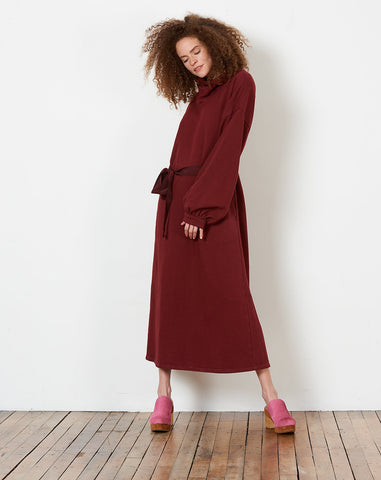 Cassie Dress in Wine