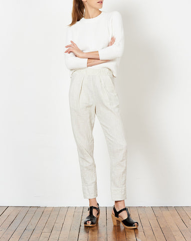 Easy Pant in Dirty White