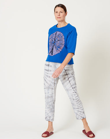 Easy Pant in Ice Tie Dye