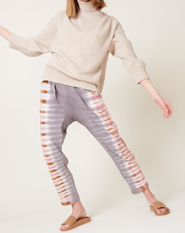 Easy Pant in Tiger Tie Dye