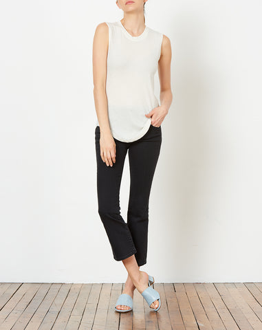 Muscle Tee in Cream