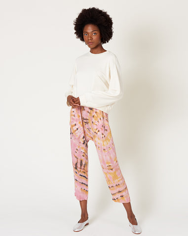 Sunday Pant in Pink Eclipse