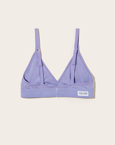 Classic Bralette in Electric Violet