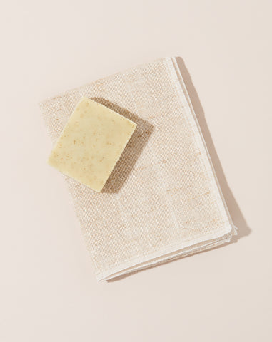 Okai Body Scrub Towel in Beige