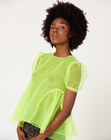 Bobo Top in Neon Yellow