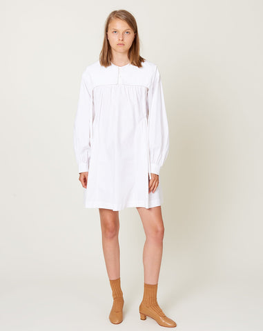 Crash Dress in White