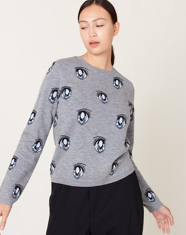 Uchi Sweater in Grey