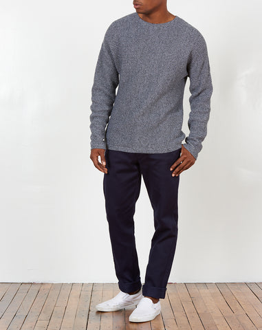 Everyday Horizontal Sweater in Ash Heather
