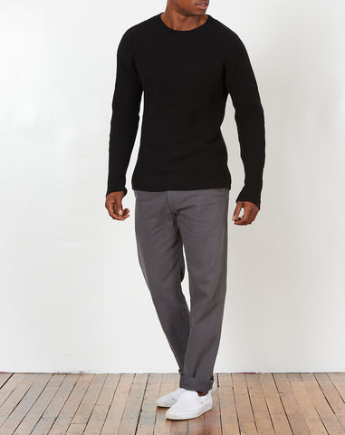 Everyday Horizontal Sweater in Black