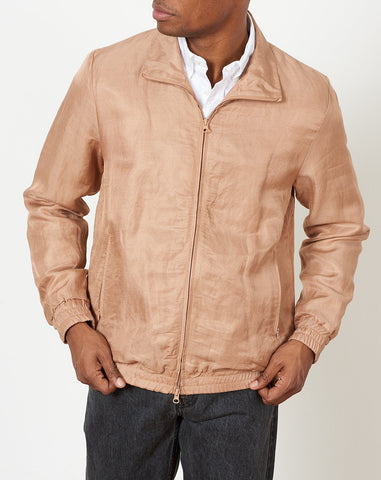 Everett Track Jacket in British Khaki