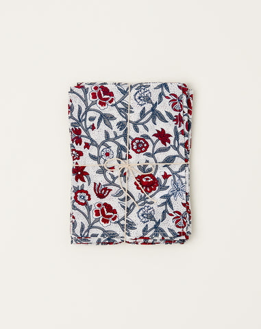 Marigold Napkin Set in Red