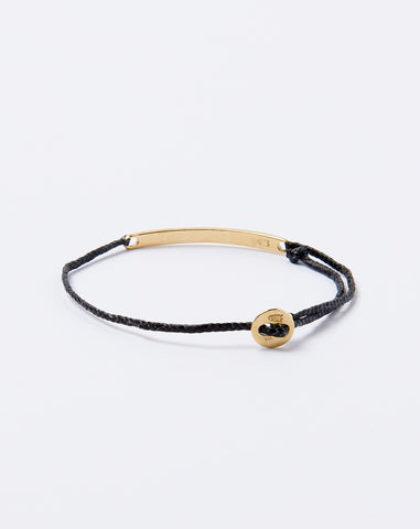 Signature ID Bracelet in Black