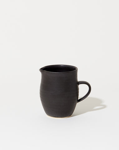 Farmhouse Creamer in Satin Black